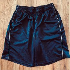 Reebok striped athletic shorts